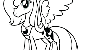 Pony Printable Coloring Pages Printable My Little Pony Coloring