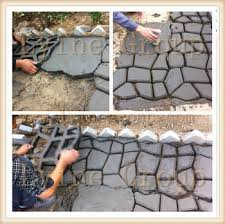 DIY Paving Concrete Mold stepping stone patio Pathmate molds