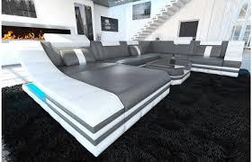 Xxl Wohnlandschaft Turino Leder Wohnen Sofa Design Und