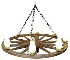 how to make a wagon wheel chandelier faux rustic chandeliers light fixture parts chandelie