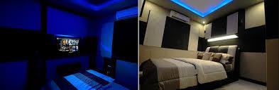 Bedroom Home Theater Design