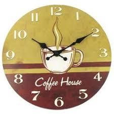 metal wall decor shop hobby: coffee house round wall clock shop hobby lobby