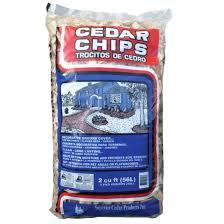 superior cedar 2 cu ft chips mulch home depot