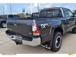2011 Toyota Tacoma TX Pro Access Cab 4x4 in Magnetic Gray Metallic ...