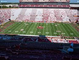 Oklahoma Memorial Stadium Seating Chart Gaylord Family Oklahoma Memorial Stadium Section 105 Seat