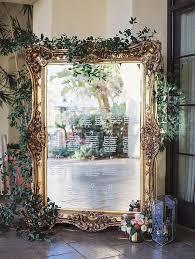 Mirror Wedding Seating Chart Vintage Gold Framed Mirror Wedding Seating Chart Ideas