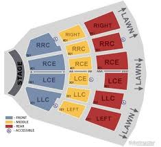 Live Nation Darien Lake Seating Chart Cmac Guide Canandaigua Pac Concert Schedule Seating Chart