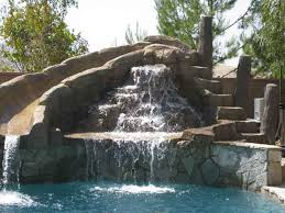 residential pools with slides. Beautiful Slides Swimming Pool Slide With Waterfall On Residential Pools With Slides G