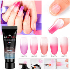 Nail Type Chart Details About T Tiao Club Temperature Change Poly Extension Gel Quick Building Nail Builder