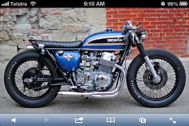 new seat style for cb750