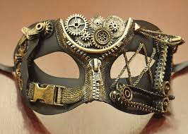 euro steampunk mask