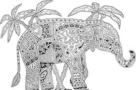 Intricate Coloring Pages Animals Coloring Pages Adults Printable