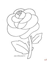 Risultati Immagini Per Rosa Da Colorare Per Bambini Bambini