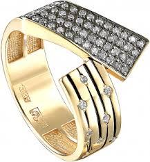 <b>Кольца</b> из желтого золота с бриллиантами — купить в AllTime.ru ...