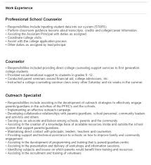 Example Psychology Resume