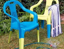 how to spray paint plastic chairs handyman