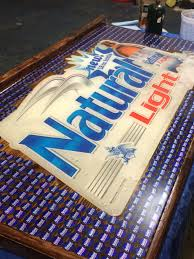 Natty Light Visor Natural Light Beer Cap Table Beer Cap Table Bottle Lights