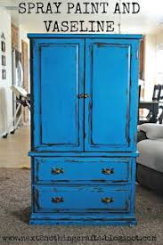 spray paint furniture ideas. next 2 nothing crafts distress using spray paint and vaseline furniture ideas y