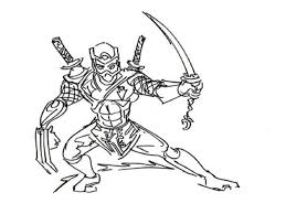 Small Picture Ninja Coloring Pages Free Printable Archives Inside Ninja Coloring