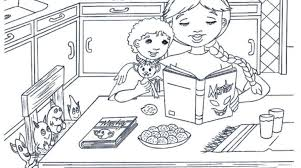 Small Picture 99 ideas Coloring Page Of A Kitchen Table on kankanwzcom