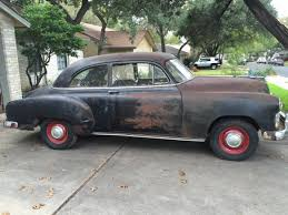 Stylish Original: 1951 Chevrolet Styleline Sedan