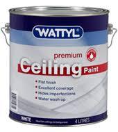 ceiling white paintWattyl Premium Ceiling White Paint