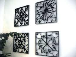 wall art wrought iron outdoor metal throughout plan 8 canada wall art