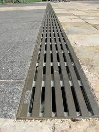 Concrete Trench Drain Design Argo Driveway Drain Patio Design Backyard