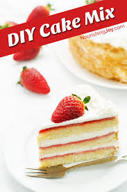 make your own additive free homemade cake mix whip up cakes and cupcakes in