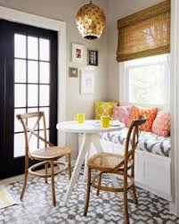 nothing brightens our day like a cheery breakfast nook find this pin and more on dining room curtains