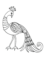 Bird Coloring Pages Printable Dreamsurfinfo