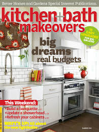 Kitchen Garden Magazine Hancock Kitchen Bath Designer Published In Better Homes Garden