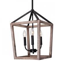 more views gannet 4 light chandelier weathered oak wood