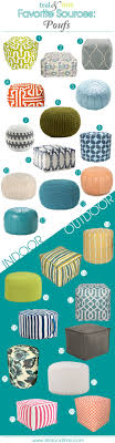 ideas ottoman decor pinterest