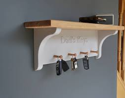 Personalised Key Rack In Choice Of Colour