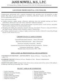 School Counselor Resume Examples School Counselor Resume Examples Of