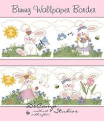 woodland bunny wallpaper border wall decals for baby girl forest animal nursery or childrens bedroom decor baby nursery cool bee animal