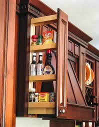 wall cabinet filler pull out organizer