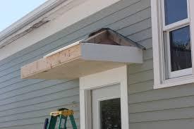how to build a front doorBricks  Honey Building the Back Door Overhang