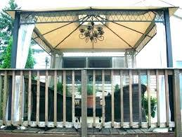 outdoor gazebo lighting chandelier to solar lightin