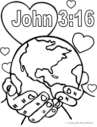 Free Bible Color Pages Icrates