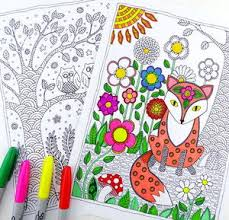 Small Picture 50 Adult Coloring Book Pages Free and Printable FaveCraftscom