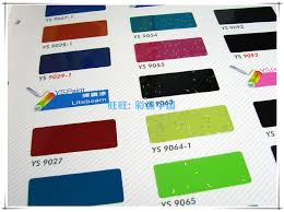 Ys Paint Color Chart Usd 335 36 New Taiwan Yongxiang Liquid Paint Color Card