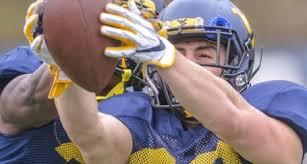 West Virginia University Football Depth Chart Former Walk On Dante Bonamico Thrust Atop Wvu Safety Depth Chart
