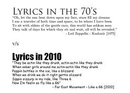 Girls The 1975 Lyrics Song Lyrics In 1975 Vs 2010 Pic Wtf