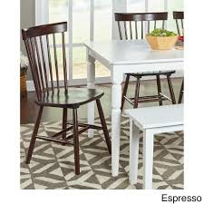 simple living venice dining chairs set of 2 on today overstock 8757307