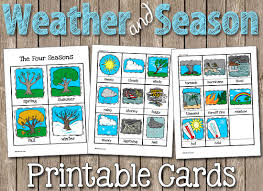 Chart On Winter Season How To Draw Four Seasons For Kids Winter Season Chart Ideas