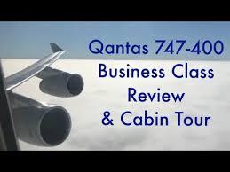 Qantas Boeing 744 Jet Seating Chart Qantas Boeing 747 400 Business Class Trip Report And Cabin Tour Hd Qantas 747 Vh Ojs
