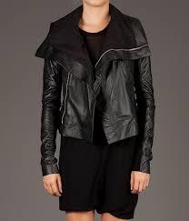 women s hooded leather jacket women black jacket