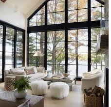tall windows with a view// TWILA RAY BOUTIQUE @mytwilaray l  www.twilaray.com | Open living room design, House, House design